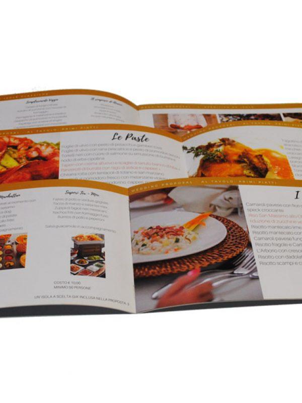 brochure gourmet